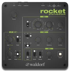 つい最近に発表された新製品のWaldorf製シンセ Rocket